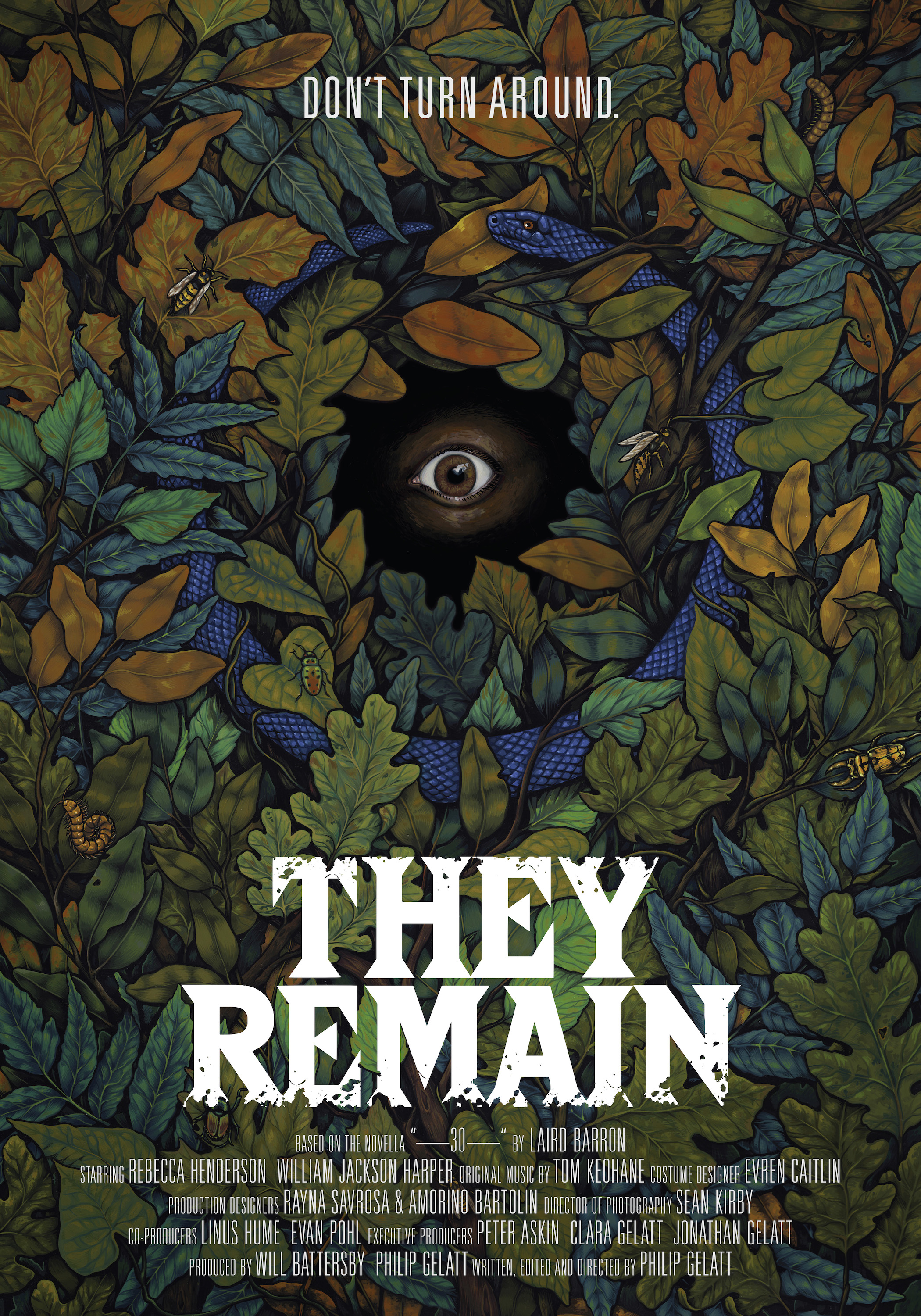 They Remain poster 27x39